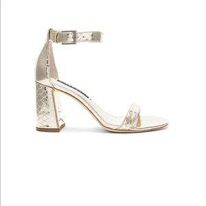 Alice + Olivia Lillian block heels
